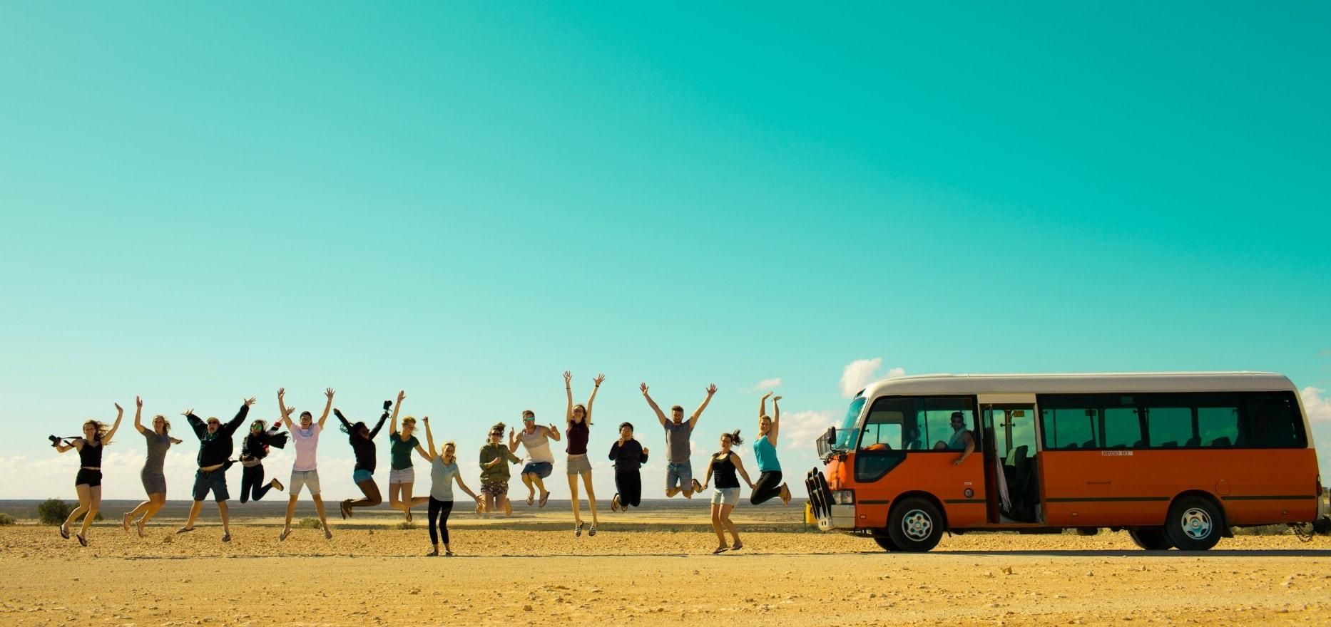 Backpacker Bus Tours Perth & WA   Why Not Bus Adventure Tours